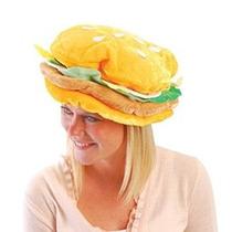 Eeuu Juguete Una Felpa Tela Hamburguesa Sombrero