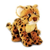 Cheetah Peluche - Keel Toys 33cm Acostado Vida Silvestre Leo
