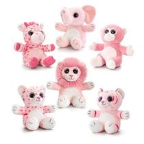 Animal Juguete Suave - Pink Sparkle Salvaje 20cm Childrens M