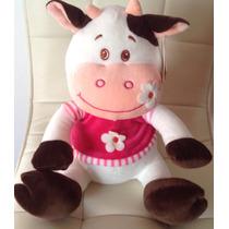 Vaca Con Flores Med 35x25