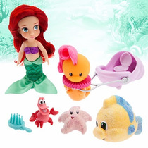 Disney Store Muñecas Animators Ariel Sirenita Original