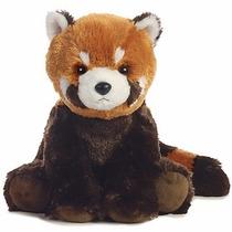 Panda Rojo Girlz Nation Oso Juguete Peluche Aurora Importado