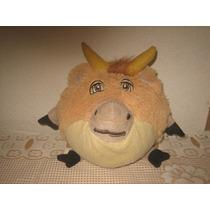Peluche Buey Vaca Toro En Forma De Bola Pelota Vaquita
