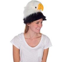 Rittle Águila Calva Sombrero Animal Del Pájaro Felpa Realist