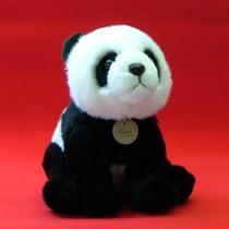 Adorable Oso Panda De Peluche Marca Aurora Miyoni Mediano