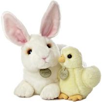 Conejo Y Pato Miyoni Hecho A Mano Oso Peluche Aurora