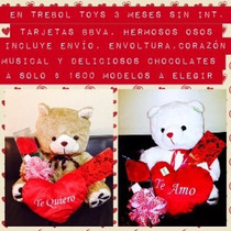 Oso Corazon Chocolates Envoltura $1600.00 Dr9