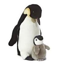 Oso Pinguinos Miyoni Hecho A Mano Peluche Aurora 40 Cm