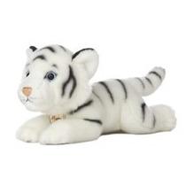 Tigre Blanco Oso Miyoni Hecho A Mano Peluche Aurora