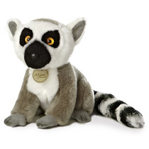 Lemur Mono Oso Miyoni Hecho A Mano Peluche Aurora