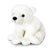 Oso Polar Peluche - Keel Toys 30cm Sentado Vida Silvestre Bl
