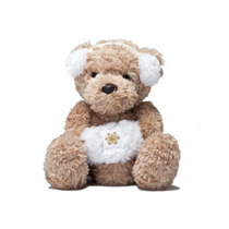 Teddy Bear - Christy Blanca Ear Muff 25cm Aurora Juguetes