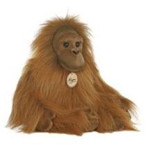 Orangutan Mono Miyoni Hecho A Mano Oso Peluche Aurora