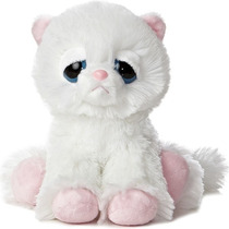 Gato Dreamy Eyes Ojones Juguete Peluche Aurora Importado