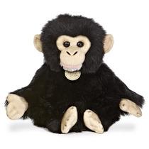 Chimpance Mono Oso Miyoni Hecho A Mano Peluche Aurora