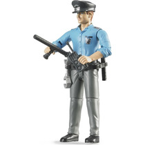 Juguetes Bruder Policeman, Light Skin, Accessories