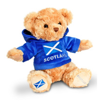 Escocia Soft Toy - Keel Toys 18cm Teddy Bear & Scottish
