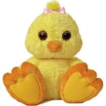 Pollo Paton Taddle Toes Oso Peluche Aurora Importado 35 Cm