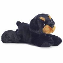 Rottweiler Perro Flopsie Oso Peluche Aurora Importado