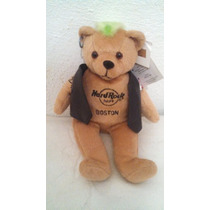 Hard Rock Cafe Peluche Boston Original Oso Motociclista Bike