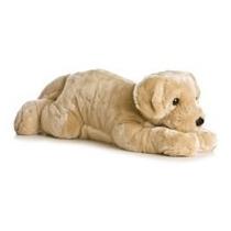 Labrador Flopsie Gigante 80 Cm Oso Peluche Aurora Importado