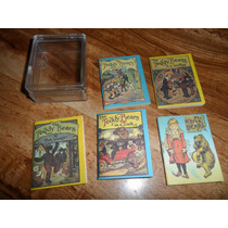 5 Mini-libros Tedy Bear Vintage 1979 Merrimack Publ. Corp.