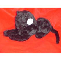 Pantera Negra Mediana 70cms -hermoso- Casi Real