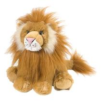 León Soft Toy - Wild Republic 12 Childrens Salvaje