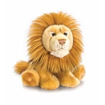 León De Peluche - Keel Toys 33cm Acostado La Fauna Del Gato