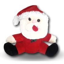 Santa Claus De Peluche Mediano 45 Cms