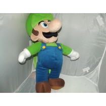 Peluche Mochila Grande De Luigi Bros