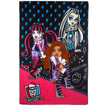 Monster High Manta De Peluche - Todos Charged Hasta