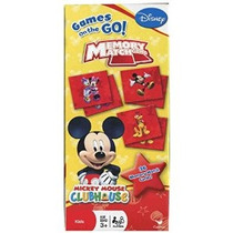 Juego De Disney Mickey Mouse Clubhouse Memory Match