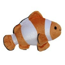 Pez Payaso Nemo Aurora Juguete Peluche Importado