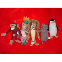 Madagascar 5 Personajes De La Pelicula De Disney