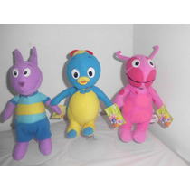 Backyardigans Originales, Llevate 3 De 20 Cm Por $690.00bfn