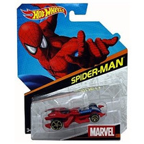 Hot Wheels Marvel Die-cast Car Spider-man # 4 1:64 Escala