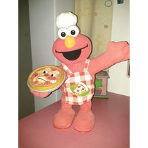 Elmo Come Pizza