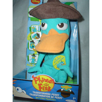 Perry Ornitorrinco De Phineas Y Ferb Agente P Transformable