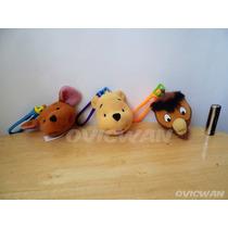 Tres Llaveros De Peluche Película Tigger Winnie Pooh Dy193