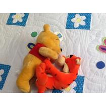 Winnie Pooh Y Tiger Peluche Disney