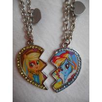 Collares Amigos My Little Pony Mi Pequeño! Dia Del Niño