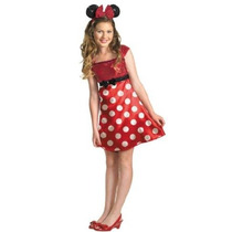 Disfraz Niñas Disney Mickey Mouse Clubhouse Red Minnie Mouse
