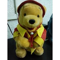 Peluche De Winnie Pooh - Vestido De Chino - Musical (30 Cm.)
