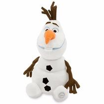 Olaf Frozen Navideño Disney Store Juguete Peluche