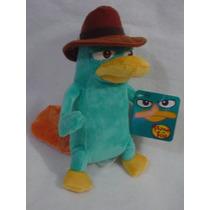 Perry El Ornitorrinco De Phineas Y Ferb Agente P De 27cms