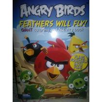 Super Paquete Angry Birds Album, Lapices, Borradores Y Mas