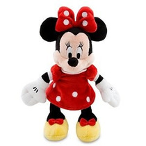 Disney Minnie Mouse De Peluche - Rojo Mini Bean Bag - 9 1/4