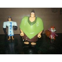 4 Figuras De La Pelicula Las Locuras Del Emperador !!!