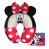 Viaje Disney Minnie Mouse Almohada Cómoda Felpa Con Free Aut